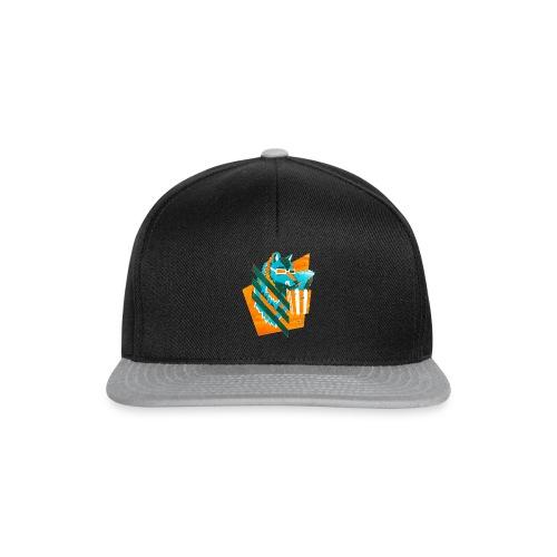 popcornwolf_logo_merch-0 - Snapback cap