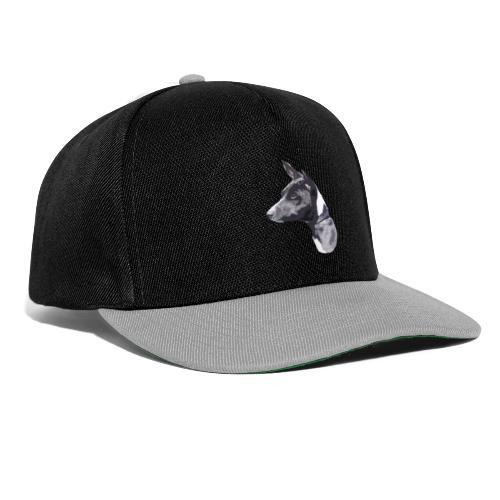 basenji black - Snapback Cap