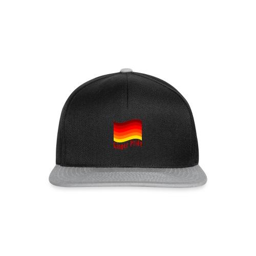 Ginger Pride flag Dark png - Snapback Cap