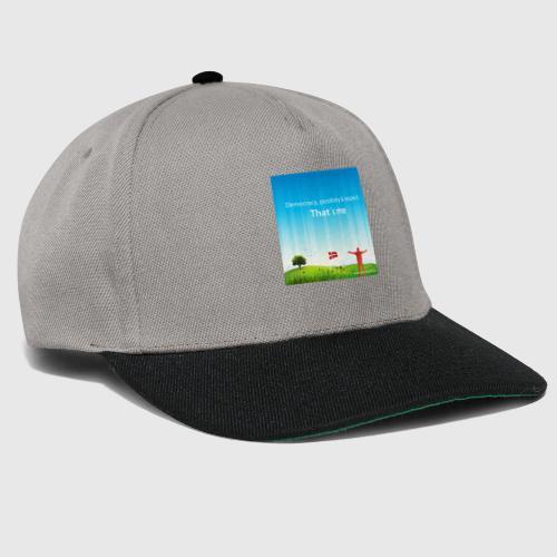 Rolling hills tshirt - Snapback Cap