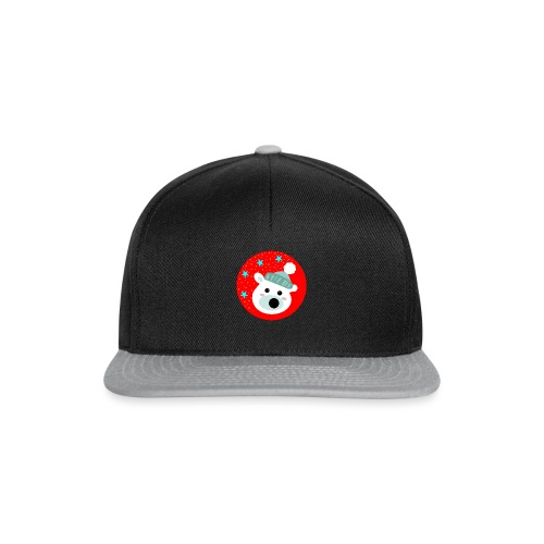 Winter bear - Snapback Cap