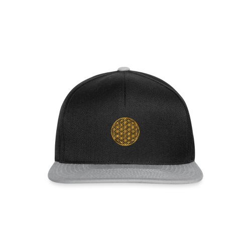 Flower of life GOLD 2 - Snapback cap