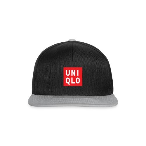 UNIQLO logo - Snapback cap