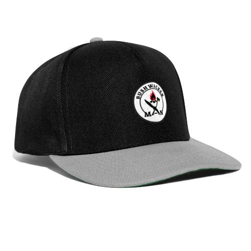 bushwackers logo white - Snapback Cap