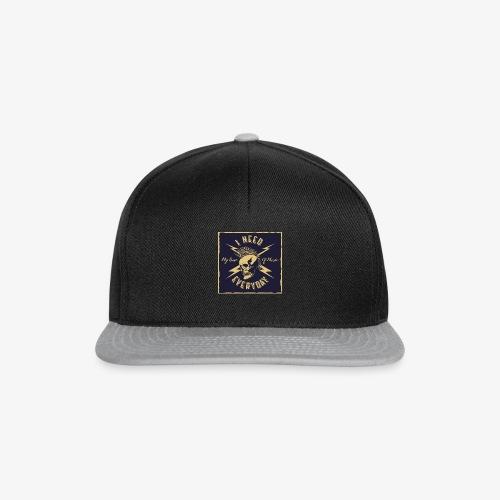 I Need Music - Snapback Cap