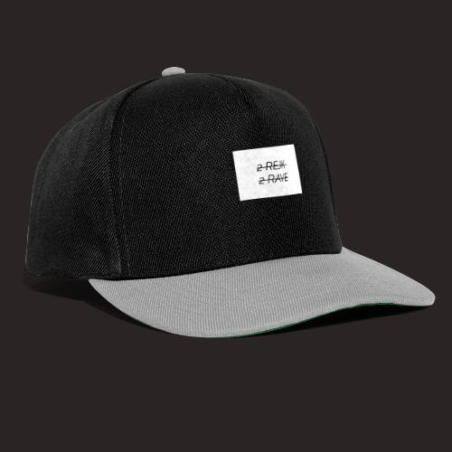 2 Rejk 2 Rave valkoinen - Snapback Cap
