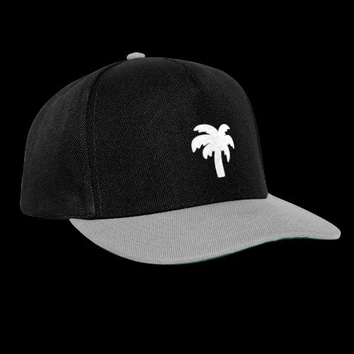 Palm Basic White - Snapback Cap