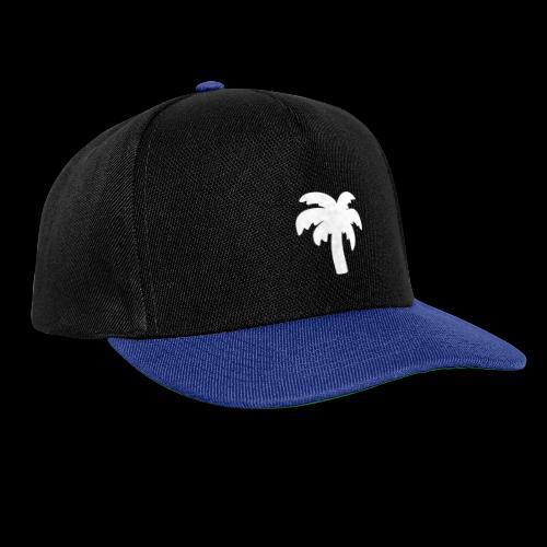 Palm Basic White - Snapback Cap