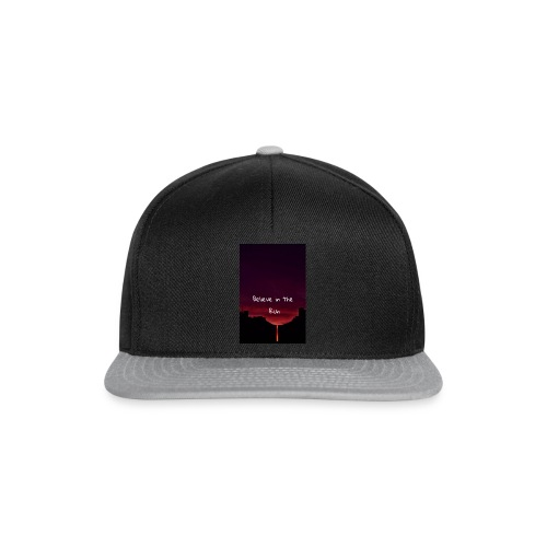 Belive in the Run - Gorra Snapback