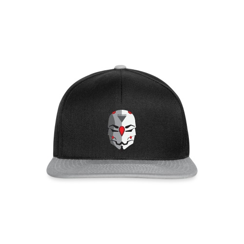 Greyfawkes logo colored - Snapback Cap