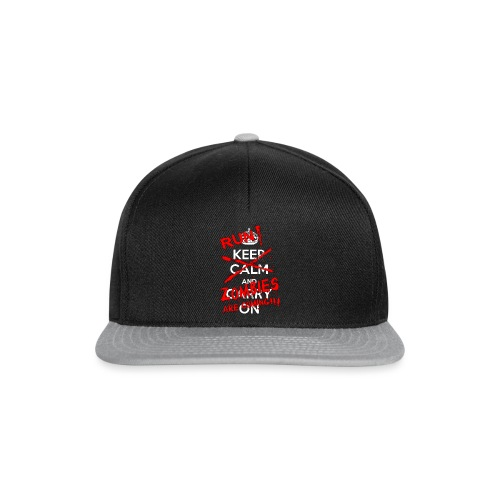 Run Zombies are cominhg - Snapback Cap