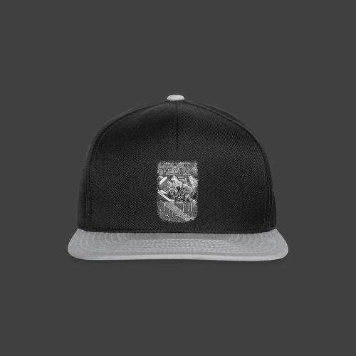 PICTFREE2b - BLACK & WHITE - Snapback Cap
