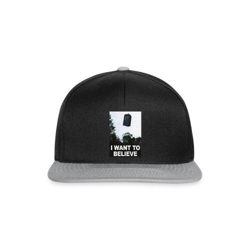 I Want To Believe - Snapback Cap