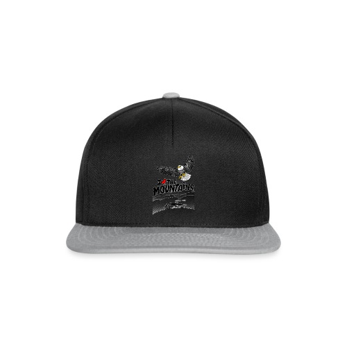 I love The Mountains Adelaar - Snapback cap
