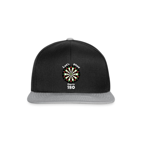 lets play darts - Snapback cap