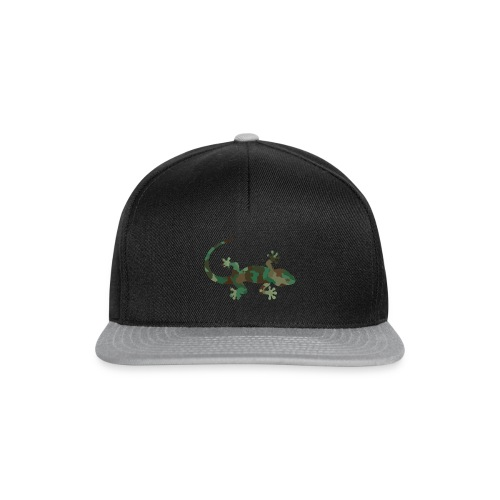 Gecko camouflage - Snapback Cap