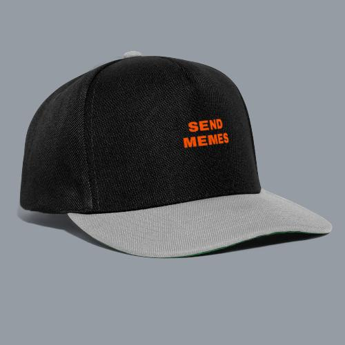SEND MEMES - Gorra Snapback