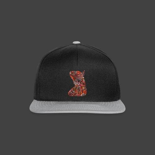 LIZARD1 - RED - Snapback Cap