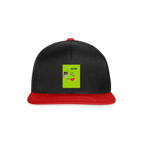 Keep call and love turtle - Snapback Cap