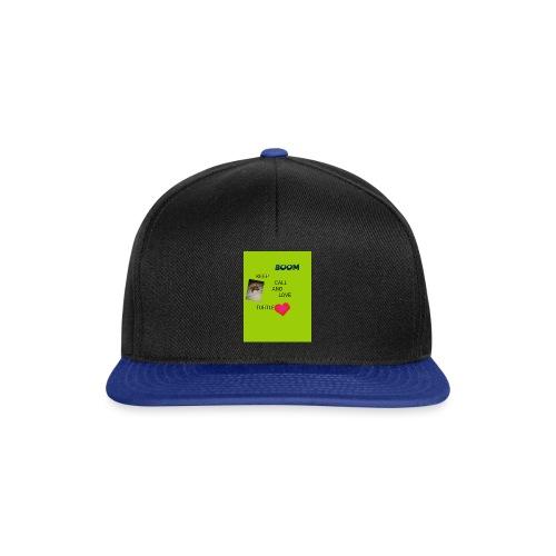 Keep call and love turtle - Snapback Cap