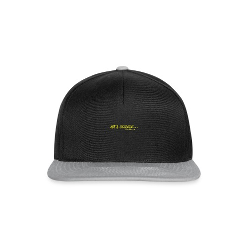 Official Got A Ukulele website t shirt design - Snapback Cap