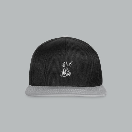 DFBM unbranded white - Snapback Cap