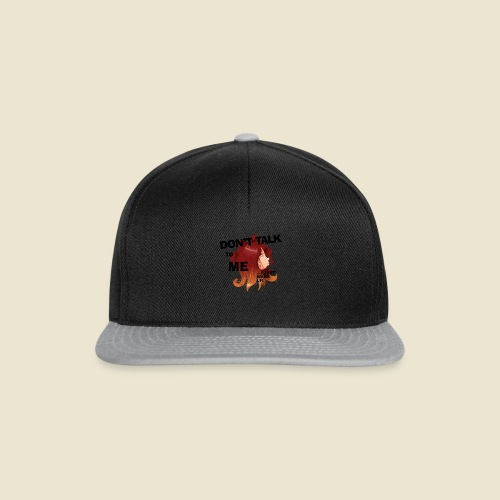 Don't talk to me... - Casquette snapback