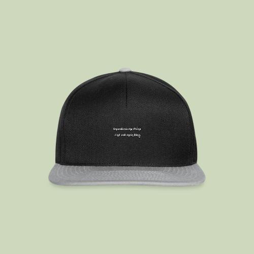 Unrealistische Pläne - Snapback Cap