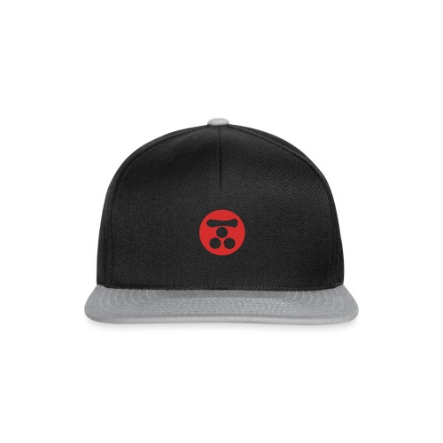 Mori Mon Japanese samurai clan in red - Snapback Cap