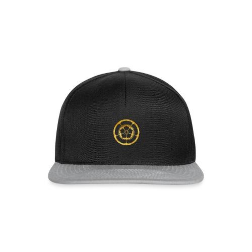 Oda Mon Japanese samurai clan in gold - Snapback Cap