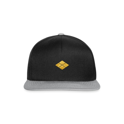 Takeda kamon Japanese samurai clan faux gold - Snapback Cap