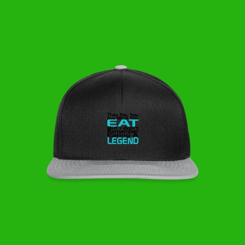 You Are What You Eat Shirt - Snapback Cap