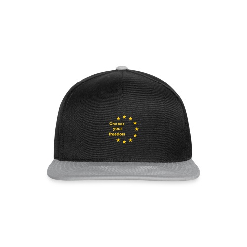choose_you_freedom-png - Snapback cap