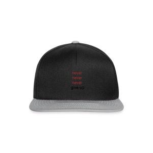 never - Snapback cap