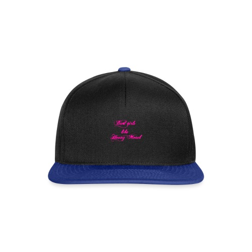 Bad-Girls - Snapback Cap