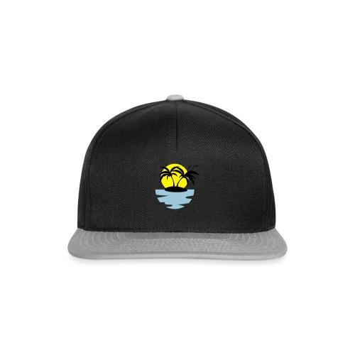 Island, Sun and Sea - Snapback Cap