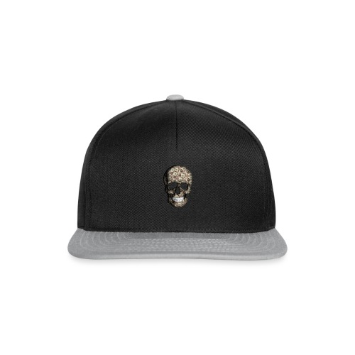 Skull Money Black - Gorra Snapback