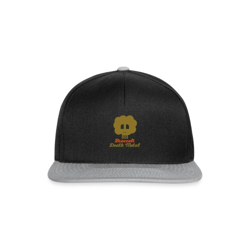 broccoli_death_metal_-10--ai - Snapback Cap