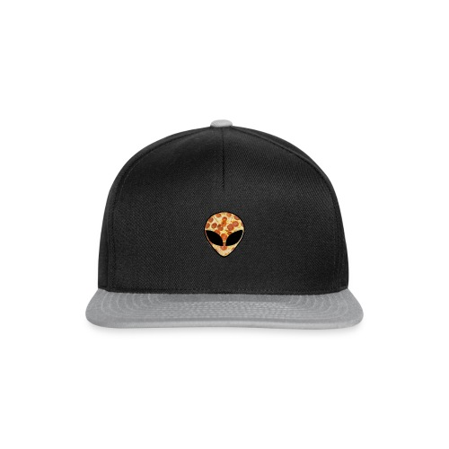 Pizza_alien - Snapback Cap
