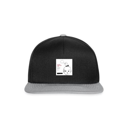 Out of the White - Mens Organic T-Shirt - Snapback Cap