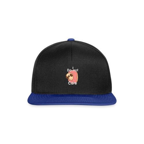 i do nut care tshirt - Snapback cap