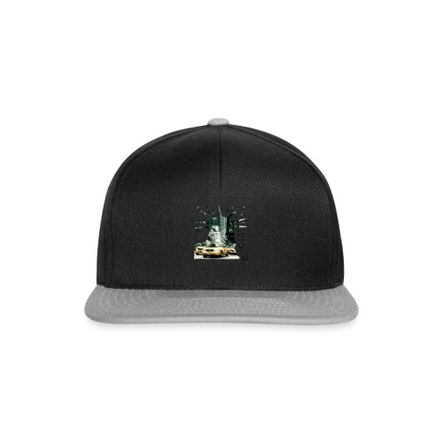 NYC - Lady liberty and the yellow cabs - Snapback Cap