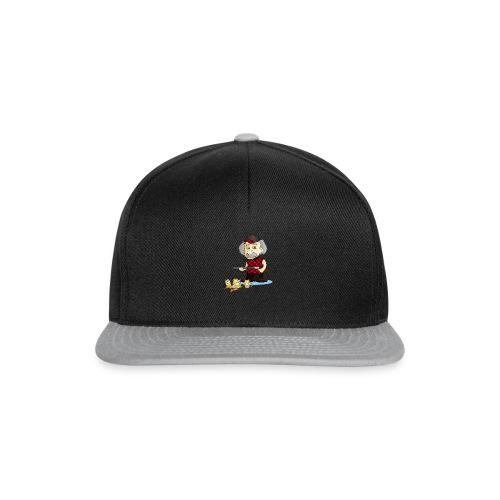 WOMENS L/Sleeve TEE REinstein Bee Logo top left - Snapback Cap
