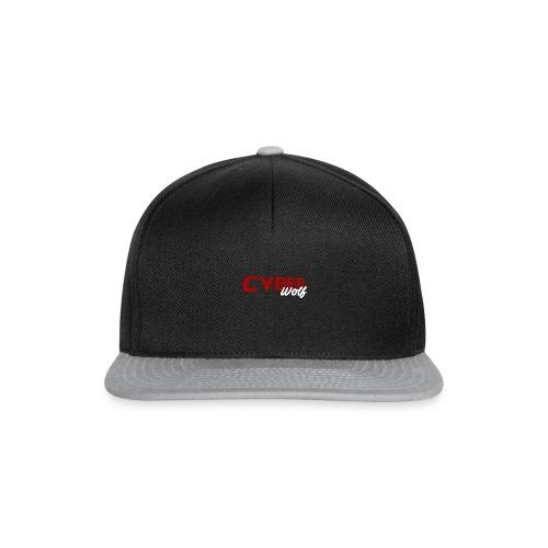 T-shirt Zwart - Snapback cap
