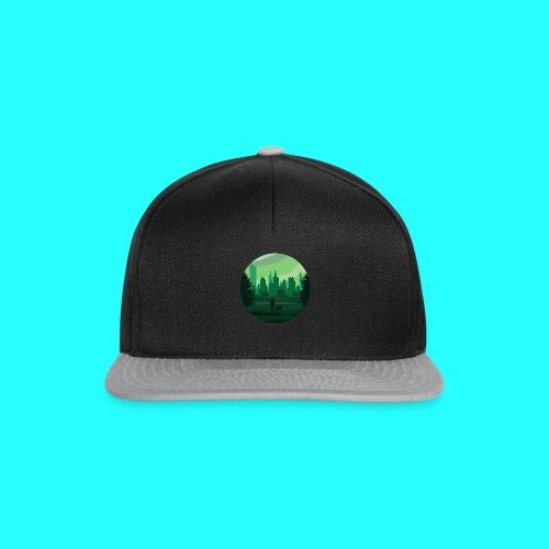 a green city - Snapback Cap