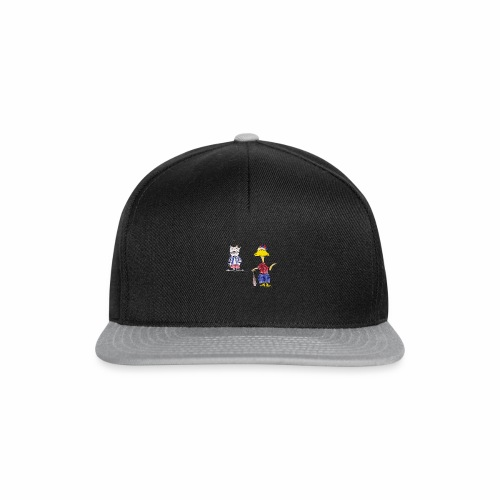 Cartoon Baseball - Snapback Cap
