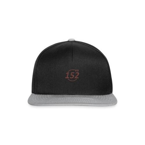 152VO Klassenzeichen mahogany ohne Text - Snapback Cap