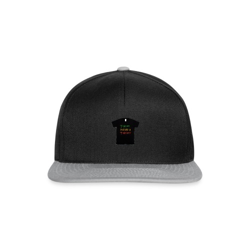 mars-one-drawing-tshirt-black - Snapback Cap