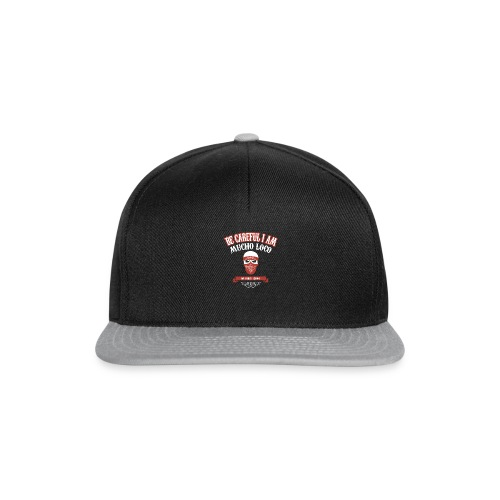 MUCHO LOCO WITHOUT CHOCO - Snapback Cap