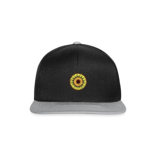 Yellow Sunflower Mandala - Snapback Cap